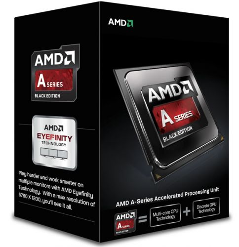 AMD Процессор AMD A4-7300 Richland X2 3.8GHz (FM2, L2 1MB, 65W, 32nm, 64bit, Radeon D 8470D 800MHz) BOX (AD7300OKHLBOX)