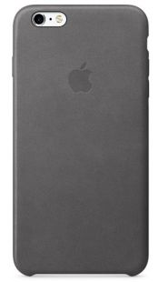 Apple iPhone 6S Plus Leather Case Storm Gray