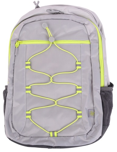 HP Active Backpack Grey/Neon Yellowcons