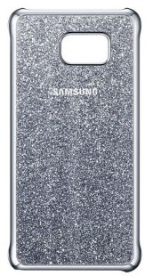 Samsung (клип-кейс) Galaxy Note 5 Glitter Cover серебристый (EF-XN920CSEGRU)