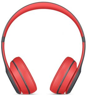 Apple Beats Solo2 Wireless Headphones Active Collection - Red