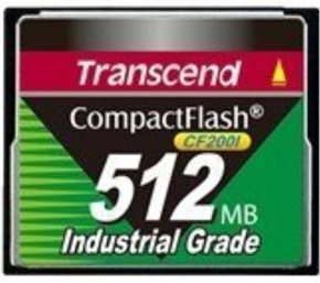 Карта памяти 512MB Transcend TS512MCF200I 512 MB Compact Flash 200x Industrial