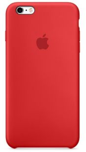 Apple iPhone 6/6S Silicone Case (PRODUCT) RED