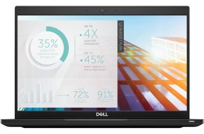 Dell Ноутбук Dell Latitude 7389 i5-7200U (DC, 2.5Ghz, 3M), 8GB LPDDR3 1866MHz, 256GB M.2 2280 SSD, Intel HD 620 , Qualcomm QCA61x4A 802.11ac Dual Band (2x (7389-5540)
