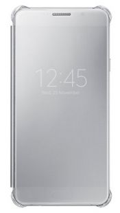 Samsung (клип-кейс) Galaxy A7 (6) Clear View Cover серый (EF-ZA710CSEGRU)