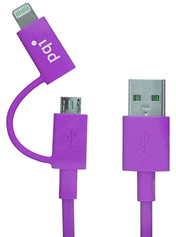 PQI i-Cable Du-Plug 90 Purple