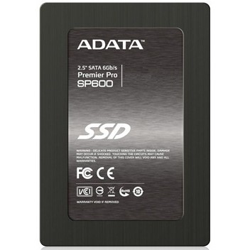"Adata SSD накопитель 2.5'' ADATA ASP600S3-64GM-C Premier SP600 64GB SATA 6Gb/s MLC 70/430Mbs IOPS 33/17K 64MB Adapter 2.5"" (7mm to 9.5mm) RTL"