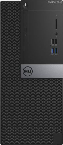 "Компьютер Dell Optiplex 5040 MT i5-6500 (3.2Ghz QC 6M), 4GB (1x4GB) 1600 DDR3L, 500GB SATA 7.2k 3.5"" HDD, Intel HD Graphics 530, DVD+/-RW, VGA, TPM, (5040-9945)"