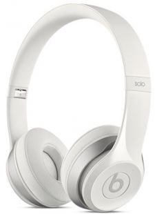 Apple Beats Solo2 On-Ear Headphones White