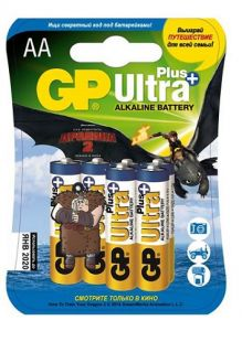 GP Ultra Plus Alkaline 15AUPTD2-2CR6