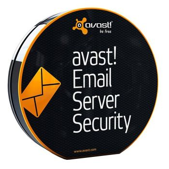 AVAST Software avast! Email Server Security, 2 years (2-4 users) GOV