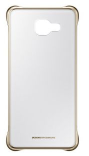 Samsung (клип-кейс) Galaxy A5 (2016) Clear Cover золотисты