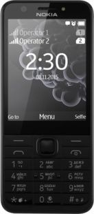 Nokia 230 Dark Silver Gray (Single Sim)