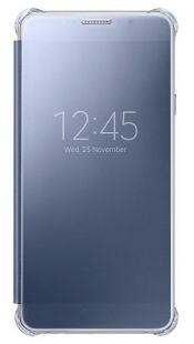 Samsung (клип-кейс) Galaxy A7 (6) Clear View Cover черный (EF-ZA710CBEGRU)