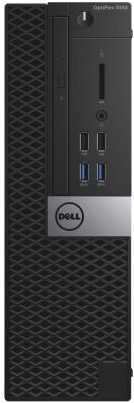 "Компьютер Dell OptiPlex 5040 SF i7-6700 (3.4Ghz) QC 8M, 8GB (2x4GB) 1600 DDR3L, 500GB SATA 7.2k 3.5"", Intel HD Graphics 530, Gigabit LAN, optical mou (5040-0033)"