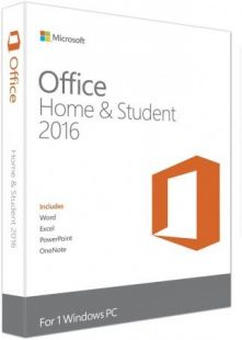 Microsoft Office Home and Student 2016 Win Russian Russia Only Mdls No Skype P2