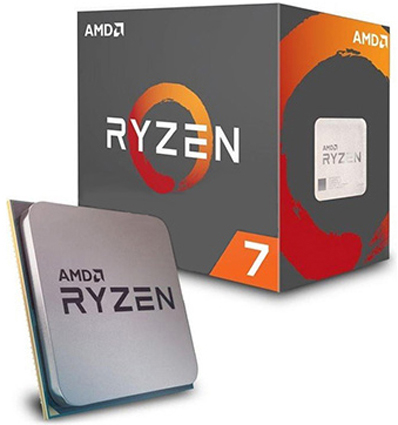 AMD Процессор AMD Ryzen 7 1700 3.0GHz Summit Ridge 8-Core (AM4, L3 4 + 16MB, 65W,14 nm) BOX (YD1700BBAEBOX)