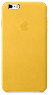 Apple iPhone 6S Plus Leather Case Marigold