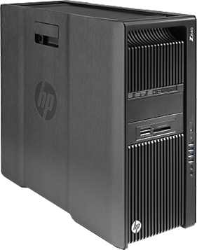 Компьютер HP Z840 G1X63EA Xeon E5-2680 v3 (2.5GHz), 32768MB, 512GB SSD, DVD+/-RW, Shared VGA, Windows 8.1 Professional, keyboard + mouse, Black (G1X63EA)