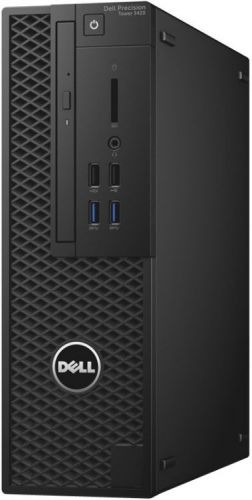 Dell Компьютер Dell Precision 3420 SFF i5-6500 (3,2GHz),8GB (2x4GB) DDR4,1TB (7200 rpm),Intel HD 530,Linux,TPM,DVD,3 years NBD (3420-4490)