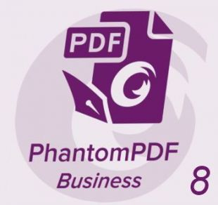 Foxit PhantomPDF Business 8 RUS Full (1-24 users) with Support and Upgrade Protection