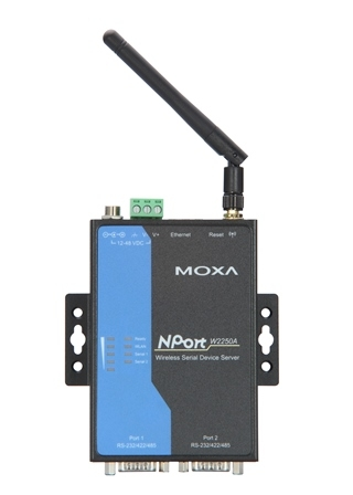 Сервер MOXA NPort W2250A-T (NPort W2250A-T)