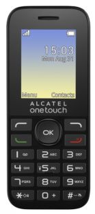 Alcatel 1016D Black/Volcano Black