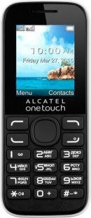 Alcatel 1052D Black/Pure White