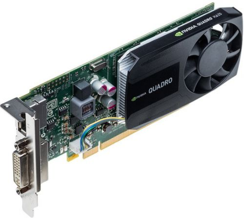 Видеокарта Dell PCI-E 490-BCIW nVidia Quadro K620 2048Mb DDR3 DVIx1/DPx1 oem low profile