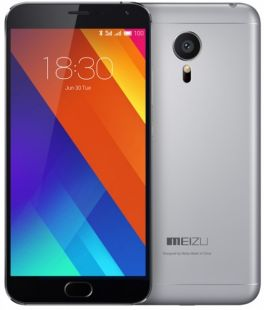 Meizu MX5 gray/black