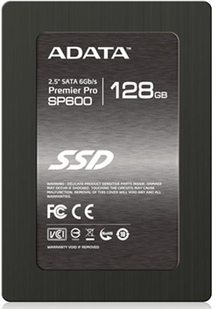 "Adata SSD накопитель 2.5'' ADATA ASP600S3-128GM-C Premier SP600 128GB SATA 6Gb/s MLC 150/530Mbs IOPS 65/36K 64MB Adapter 2.5"" (7mm to 9.5mm) RTL"