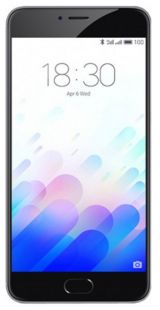 Meizu M3 Note Grey Black 16GB
