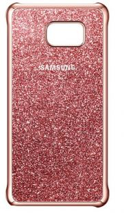 Samsung (клип-кейс) Galaxy Note 5 Glitter Cover розовый (EF-XN920CPEGRU)