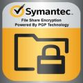 Symantec File Share Encryption Powered By PGP Technology Windows, Initial Subs. with Support, 1-24