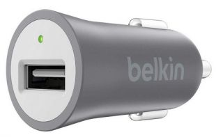 Belkin Universal Car Charger Grey F8M730btGRY