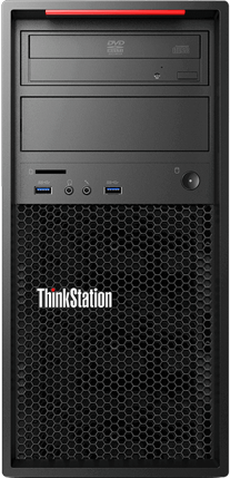 Компьютер Lenovo ThinkStation P310 30AT003PRU Xeon E3-1245 v5 (3.5GHz), 8192MB, 256GB SSD, DVD RW, Shared VGA, Windows 10 Professional, клавиатура + (30AT003PRU)