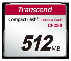 Карта памяти 512MB Transcend TS512MCF220I UDMA mode 220x industrial
