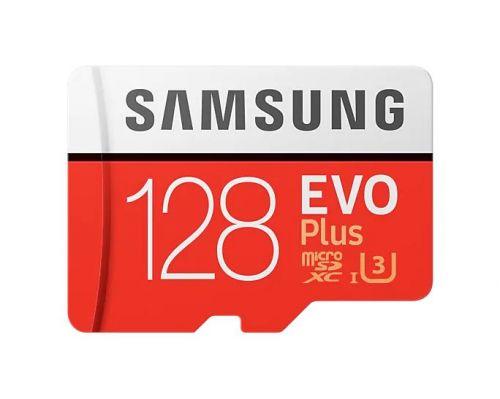 Фото - Карта памяти 128GB Samsung MB-MC128HA/RU MicroSDXC EVO Plus Class 10 (UHS-I U1) + SD адаптер карта памяти samsung 64gb evo plus v2 microsdxc class 10 u1 sd adapter mb mc64ha
