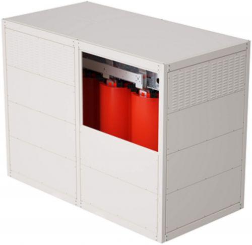 Трансформатор DKC TDA25ADYN1BF000 с литой изоляцией 2500 кВА 10/0,4 кВ D/Yn–11 вентиляция IP31