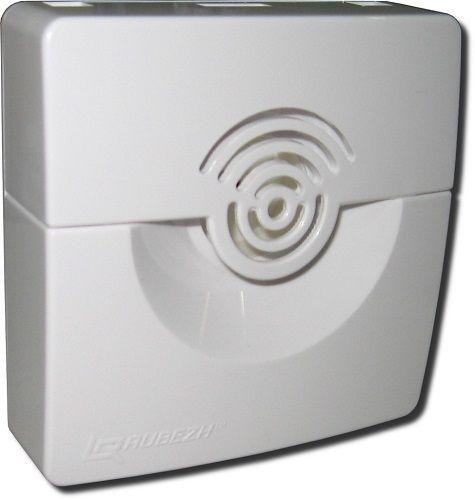 Оповещатель Рубеж ОПОП 2-35, 12В (корпус белый) звуковой (сирена) 100 дБ, 9-27В, 35мА, IP41