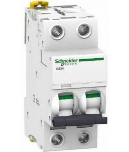 Автоматический выключатель Schneider Electric A9F74204 2P 4A (C)(серия Acti 9 iC60N) автоматический выключатель schneider electric ez9f34210 2p 10a c серия easy 9