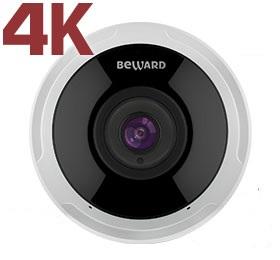 Видеокамера IP Beward SV6020FLM 12 Мп, 1/1.7'' КМОП SONY Sony Starvis, H.265/Н.264/MJPEG, ИК-подсветка (до 15м) видеокамера ip beward sv3210dm 5 мп 1 2 9 кмоп sony starvis h 265 н 264 hp mp bp mjpeg 30к с 2560x1920 объектив 2 8 мм на выбор