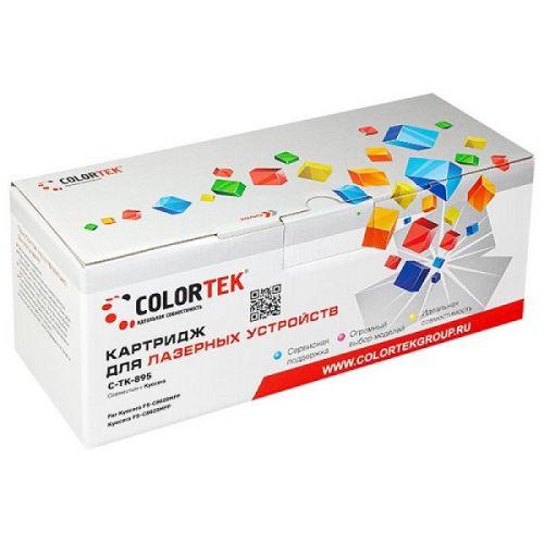 Картридж Colortek CT-TK895K для Kyocera FS-C8020MFP, Kyocera FS-C8025MFP, черный, 12000 стр