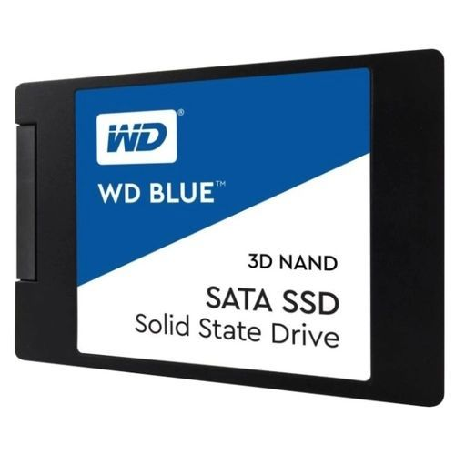 Накопитель SSD 2.5 Western Digital WDS500G2B0A Blue 500GB TLC SATA 6Gb/s 560/530MB/s IOPS 95K/81K MTTF 1.75M