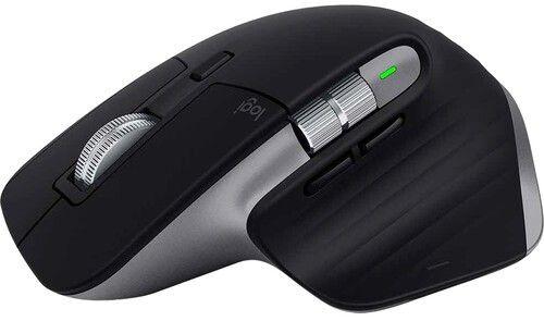Фото - Мышь Wireless Logitech MX Master 3 910-005696 черный оптическая (4000dpi) BT USB (6but), для MAC мышь logitech mx master 3 черный