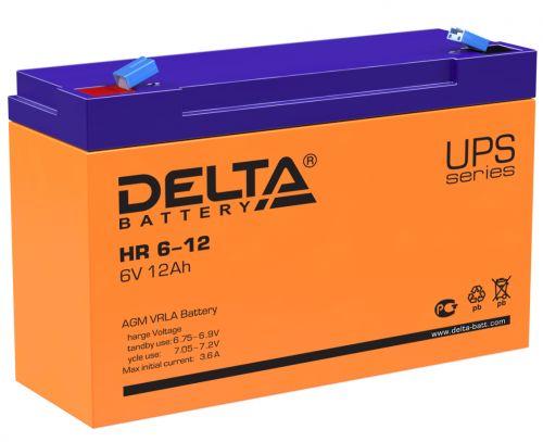 Батарея Delta HR 6-12 6В, 12Ач, 151/50/100