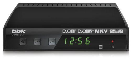 BBK Ресивер цифровой телевизионный DVB-T2 BBK SMP021HDT2