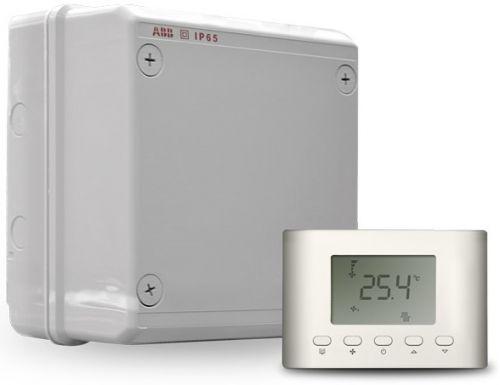 Шкаф Zilon ZCS-mini-15/3 управления с ЖК-экраном R001 для установок ZPE Compact, трехфазный 380В