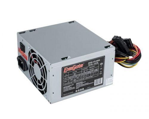 Фото - Блок питания ATX Exegate AB500 EX219185RUS-S 500W, SC, 8cm fan, 24p+4p, 3*SATA, 2*IDE, FDD + кабель 220V с защитой от выдергивания выключатель сенсорный с контактным проводом 220v 500w pm218ws 220v