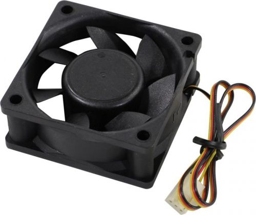 Вентилятор Exegate ExtraSilent ES06025S3P EX283370RUS 60x60x25 мм, подшипник скольжения, 3pin, 2500RPM, 22dBA вентилятор noiseblocker blacksilentpro pr 2 60mm 2500rpm